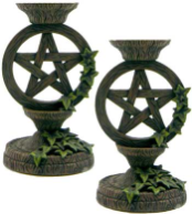 Pentagram Taper Holder Set
