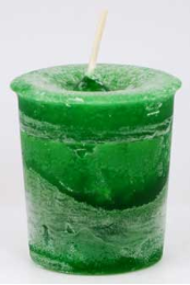 Money Herbal Votive - Green