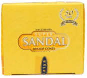 Sandal Cone Incense 12 Pack