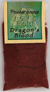 Dragons Blood Powder Incense  1 oz