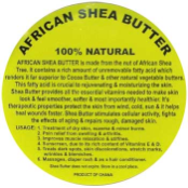 Shea Butter salve  16 oz