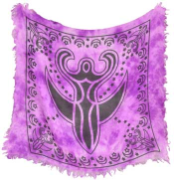 "Goddess Altar Cloth 18"" x 18"""