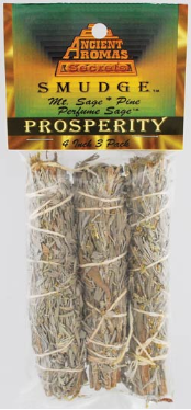 Prosperity Smudge Stick 3 Pack 4""