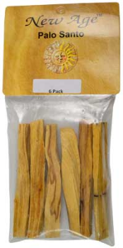 "Palo Santo Smudge Sticks 6 Pack  3 1/2"" - 4"""