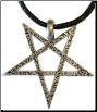 Inverted Pentagram Amulet