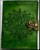 Green Tree of Life Leather w/ Latch