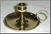 Brass Chime Candle Holder