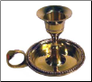Brass Chamberstick Tapered Candle Holder