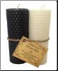 Wiccan Altar set Black & White Lailokens Awen Candle