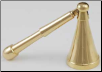 Long Belled Brass Candle Snuffer