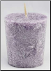 Lavender Palm  votive(purple)
