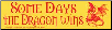 Some Days the Dragon Wins - Bumper Sticker