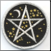 Starry Pentagram iron-on Patch