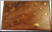Stars & Moon Brass Inlay Box