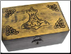 Handcrafted Box w/ Thor's Hammer