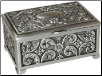 "2"" x 3"" Rectangular pewter"