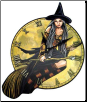Witch clock
