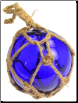 Cobalt Blue Glass Float