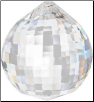 Disco Faceted Crystal Ball  40mm