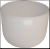 White Crystal Singing Bowl  8""