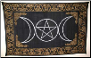 "Triple Goddess Tapestry 72"" x 108"""