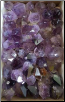 Flat of Amethyst Points