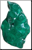 5# Malachite free shape