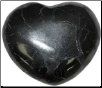 Shungite Stone Heart  30mm