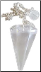 Clear Quartz Pendulum  6-sided