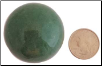 40mm Aventurine, Green sphere