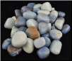 Angelite Tumbled Stone  1 Lb