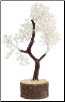 Quartz gemstone tree 160 beads