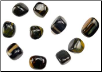 Blue Tiger's Eye Tumbled Stone  1 Lb