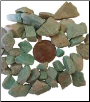 Amazonite Untumbled Stone  1 Lb