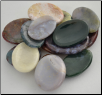 Jasper Worry Stone - (various Colors & Patterns)