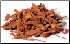 Sandalwood chips red 1 oz (Pterocarpus santalinus)