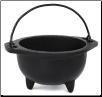 Cast Iron Cauldron 6""
