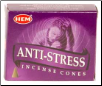 Anti-Stress HEM Cone Incense 10 Pack