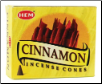Cinnamon HEM Cone Incense 10 Pack