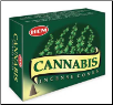 Cannabis HEM Cone Incense 10 Pack
