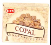 Copal HEM Cone Incense 10 Pack