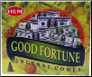 Good Fortune HEM Cone Incense 10 Pack