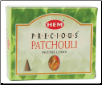 Patchouli HEM Cone Incense 10 Pack