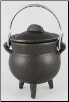 Plain Cast Iron Cauldron 3""