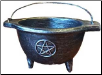 Pentagram Cauldron (Resin)  4""