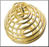 "Gold Plated Coil  1"" x 7/8"""