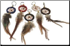 Dream Catcher Keychain Mixed Colors