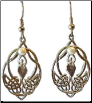 Celtic Knot Goddess Earrings