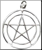 Two Circle Pentagram Pendant