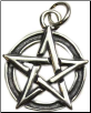 Pentacle Sterling Silver Pendant